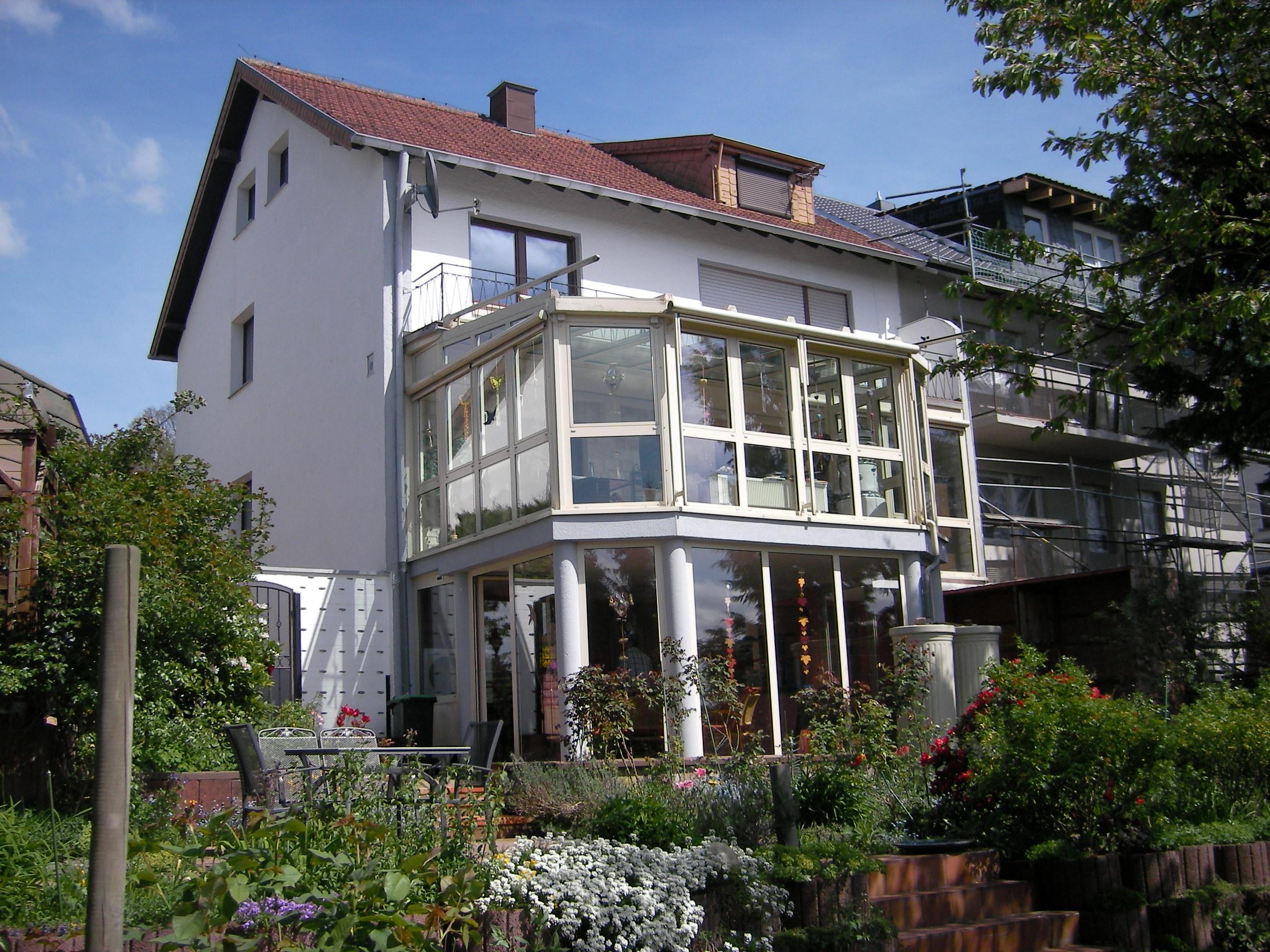 Zweifamilienhaus mit ausgebautem Studio im Dachgeschoss
